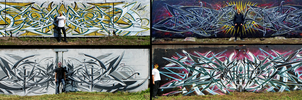 Symmetric-wilDSTyle / Wator / DST / Graffiti by Wator
