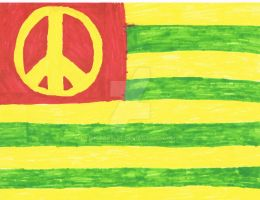 Hippie Flag by Ristar3487