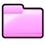 Pink Folder - Pastel Series Icon by asianplatypus6