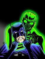Batman Vs. Phosphorous by AdamTupper