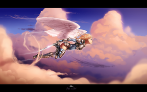 Angel in Flight by MLeth