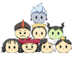Commission: Villain Tsum Tsums by SweetxSnowxDream