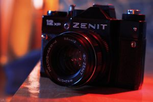 Old Zenit 12xp camera by LAckas