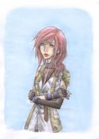Final Fantasy XIII : Lightning by Zae369