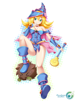 Fan Art Dark Magician Girl by Orcaleon