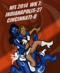 NFL 2014 WK 7:  COLTS VS. BENGALS! by Rerwin