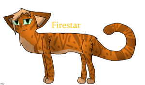 Firestar (100 Warriors Challenge) by TheSlendermanIsHere