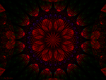 FLOWER POWER FRACTAL WP by a2j3