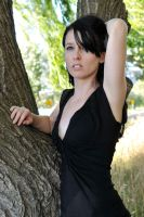 Emma by a tree 1 by wildplaces