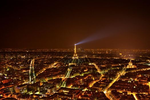 Paris at Night by dealived
