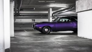 Plum Crazy 1970 Dodge Coronet - Shot 4 by AmericanMuscle