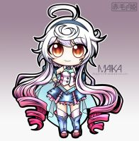 Vocaloid - Maika by Akage-no-Hime