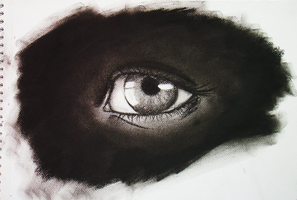 eye Sketch by VirusRedsox