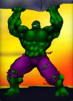 HULK SMASH by HarshRealities