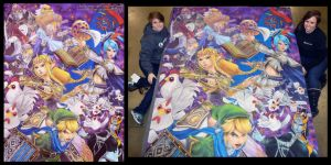 Hyrule Warriors and Artists by ChalkTwins