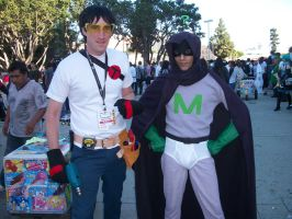 AX11: Toolshed and Mysterion by Sonicbandicoot