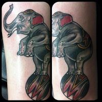 Charlie Traditional by HammersmithTattoo