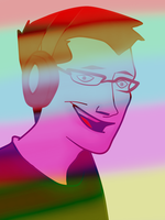 Markiplier Colorful Fanart 2 by StoneHot316