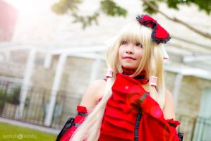 Red Chii - Chobits by RavenAlx