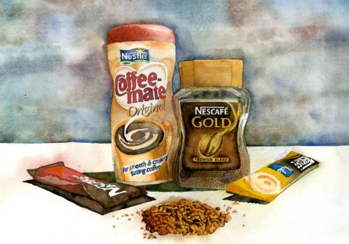 Nescafe... by Dove-Voice