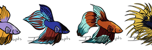 Mystery Mermen Adopts.:Closed:, by itsmar-Adopts