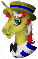 Flim Portrait - Lineless Art by AncientOwl