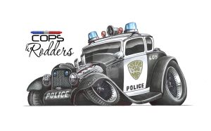 Cops and Rodders by SIMPSONARTISTRY