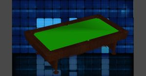 SIMPLE BILLIARD TABLE by FilorNotAlwaysMe