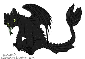 Toothless by tomahachi12