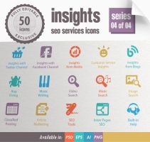 Insights SEO Services Icons - Series 04 of 04 by kh2838