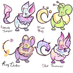 Space Mice Designs by zvezdnyy