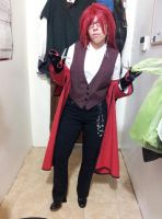 Grell Sutcliff - Sneak peek 2 by SexySonadow