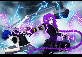 ART TRADE: EXTREME VOLTAGE by Rafael-Domination
