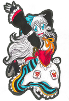 TRADITIONAL: Alice in Wonderland Challenge: Ally by InvaderIka