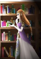 TP Zelda-Wisdom by TheHummingInker