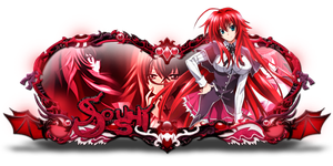 Sign Rias Gremory by Kiochiu