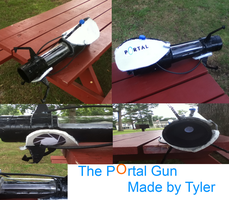 *Requested* Portal gun prop by Blinx3megachanel