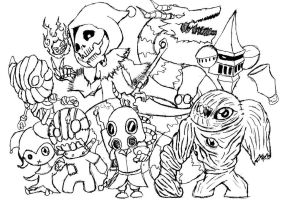 Monster Mania by ArkAges