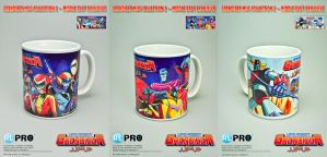 Grendizer Mug Collection 2 by EnricoGalli