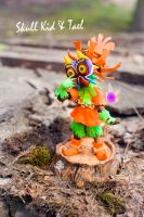 Skull Kid and Tael by S-Tier-Studios