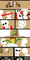 Homestuck comic by frillium