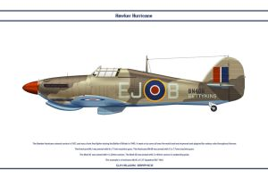 Hurricane GB 127 Sqn by WS-Clave