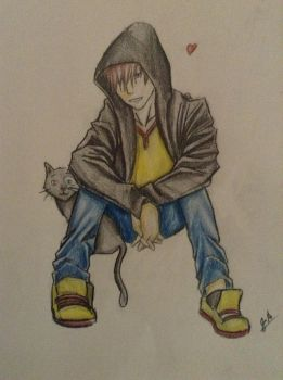 Teen Caillou by AnimegrlLuvit