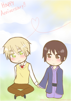 :APH: Happy Anniversary by s-a-n-d-y