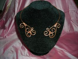 celtic necklace by Syamavallabha