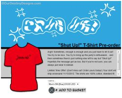 [ Shut Up ]  Al Bhed T-Shirt! by OurDestinyDesigns