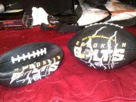 Promotional Footballs by HectorNY