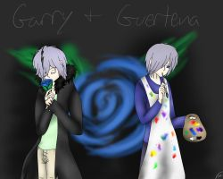 Garry and Guertena by Shinkou-san