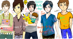 Happy Birthday, Anthony by NaOH-giveup