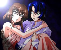Me with Athrun by naruto6393